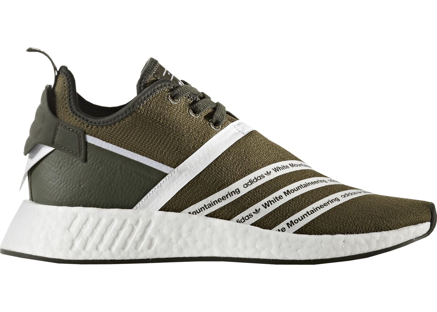 WHITE NMD R2 MOUNTAINEERING TRACE OLIVE