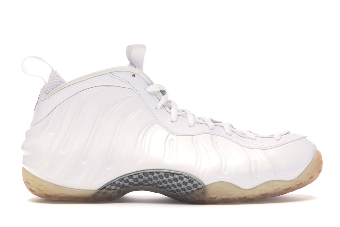 【NeaYearSALE1/1-1/5】ナイキ NIKE エアー フォームポジット 白 ホワイト スニーカー 【 AIR FOAMPOSITE WHITE ONE OUT WHITEMETALLIC SILVER 】 メンズ 送料無料
