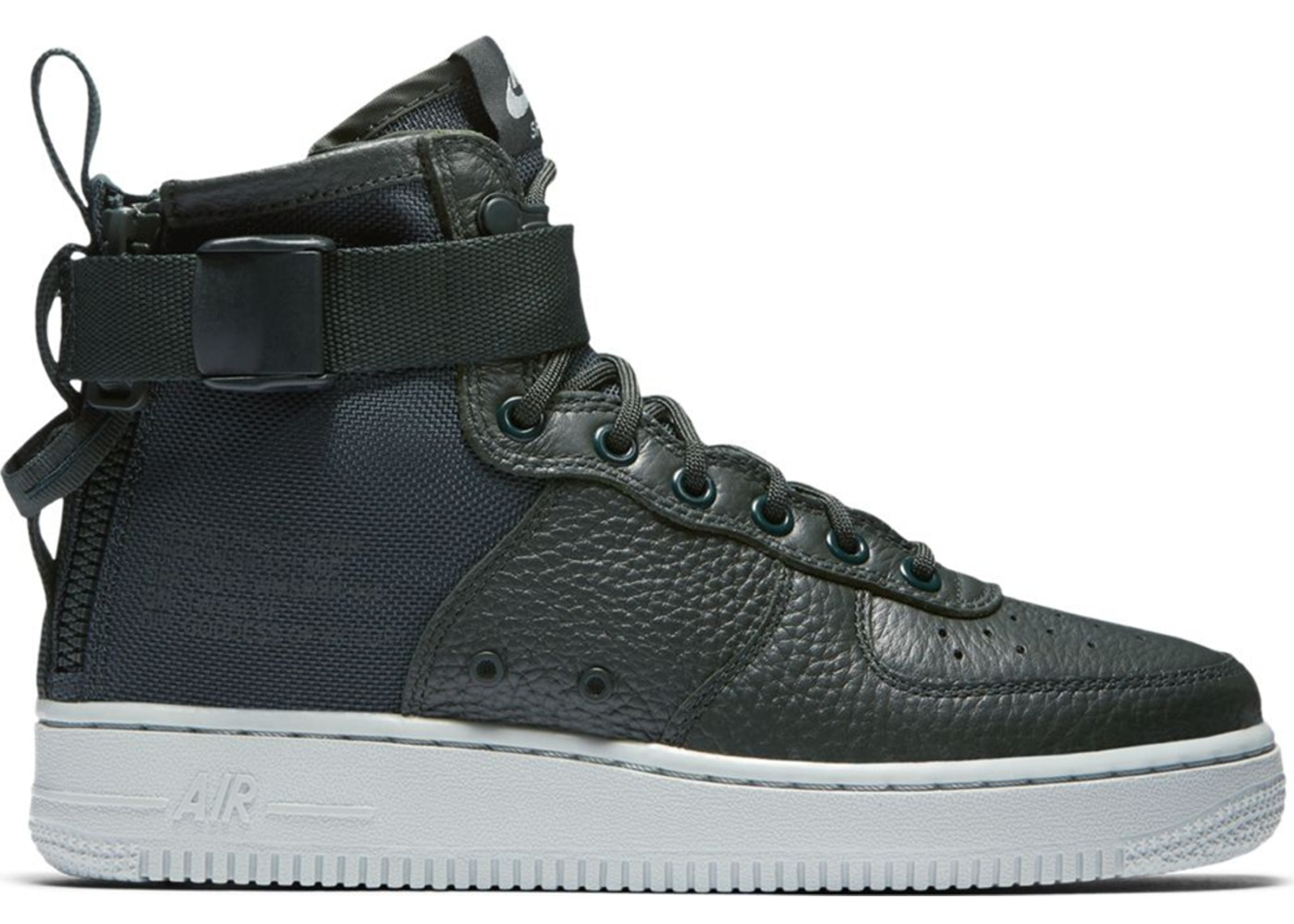 【NeaYearSALE1/1-1/5】ナイキ NIKE エアー ミッド 緑 グリーン スニーカー 【 AIR GREEN SF FORCE 1 MID OUTDOOR W GREENLIGHT PUMICE 】 送料無料