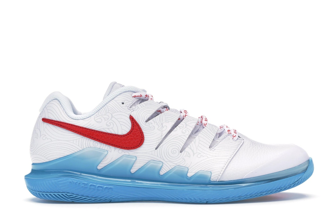 ナイキ NIKE エア ズーム スニーカー 【 AIR ZOOM VAPOR X NISHIKORI WHITE UNIVERSITY REDLIGHT CURRENT BLUE 】 メンズ