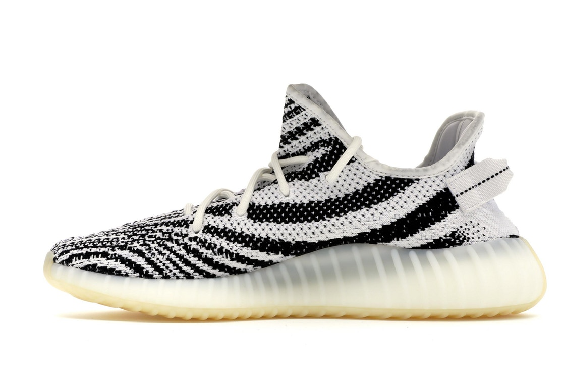 yeezy boost white and black