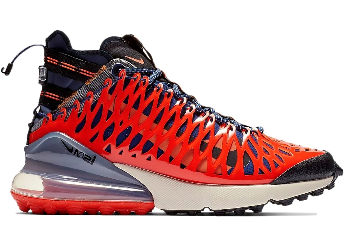 ナイキ NIKE エア マックス 青 ブルー スニーカー 【 AIR BLUE MAX 270 ISPA VOID TERRA ORANGE BLACKTERRA ORANGEOATMEAL 】 メンズ