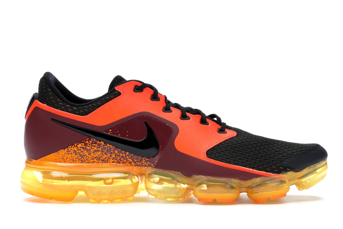 ナイキ NIKE エアー スニーカー 【 AIR VAPORMAX CS TOTAL CRIMSON BLACK BLACKLASER ORANGE 】 メンズ 送料無料