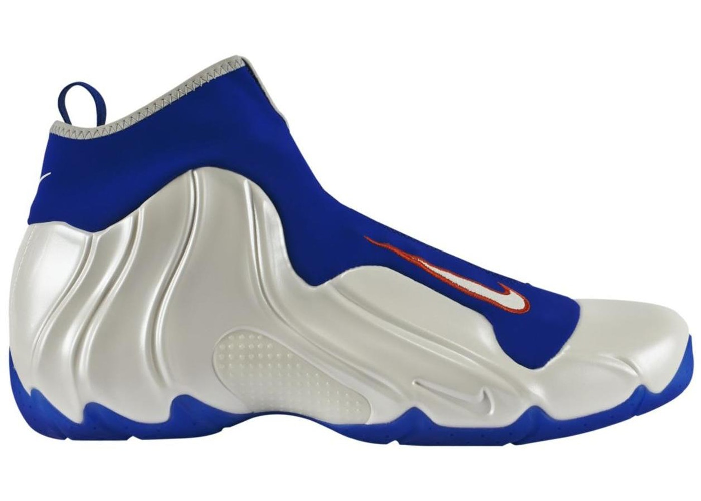 ナイキ NIKE エア ニックス スニーカー 【 AIR FLIGHTPOSITE KNICKS 2014 WHITE GAME ROYALTEAM ORANGE 】 メンズ