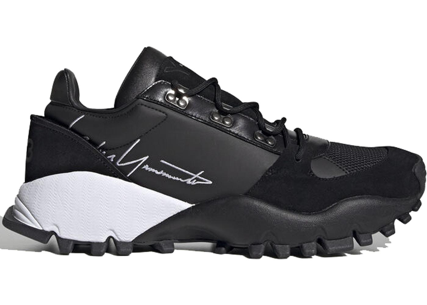 アディダス ADIDAS 黒 ブラック スニーカー 【 BLACK Y3 KYOI TRAIL WHITE FOOTWEAR 】 メンズ