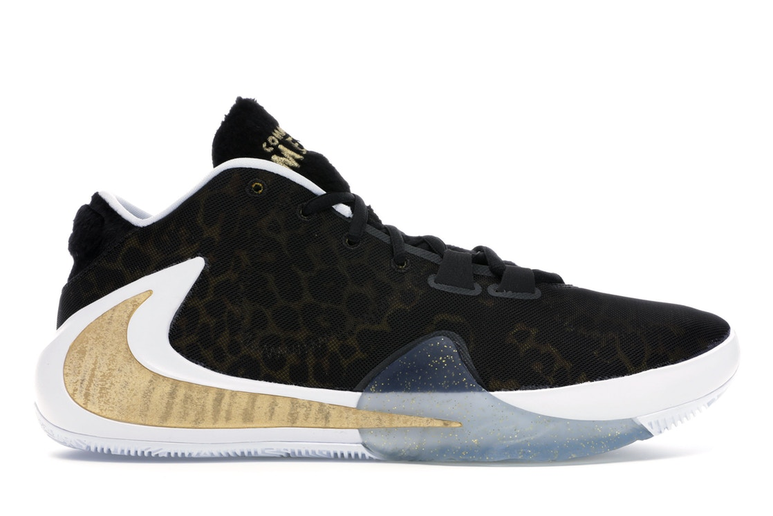 ナイキ NIKE ズーム スニーカー 【 ZOOM FREAK 1 COMING TO AMERICA METALLIC GOLD BLACKWHITE 】 メンズ 送料無料