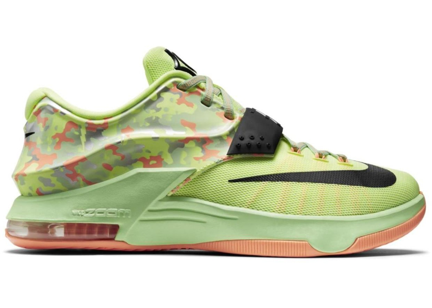 ナイキ NIKE スニーカー 【 KD 7 EASTER LIQUID LIME BLACKVAPOR GREENSUNSET GLOW 】 メンズ