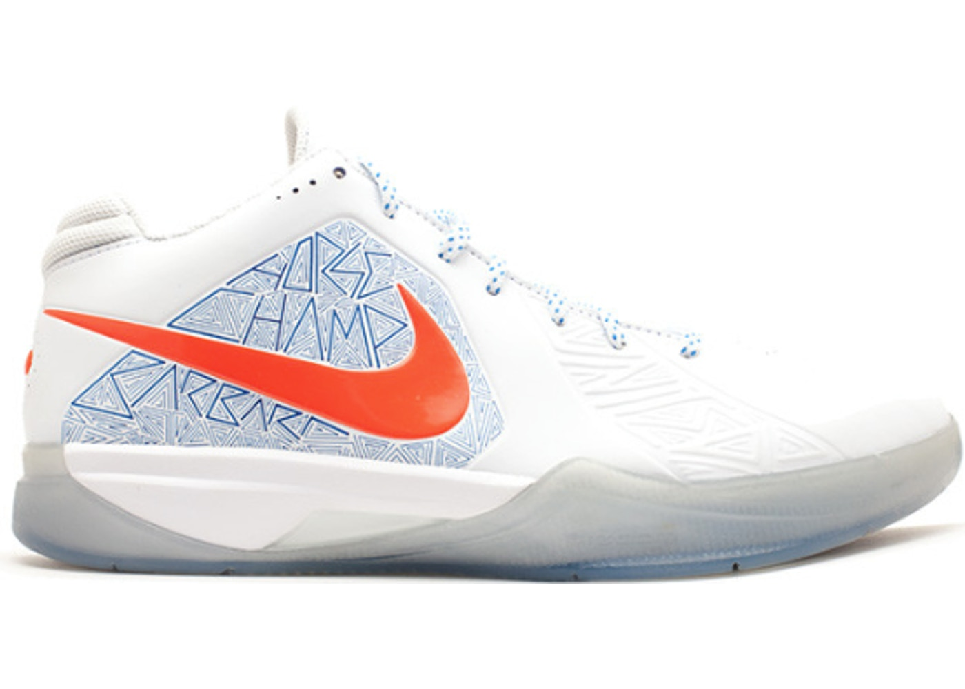 ナイキ NIKE スニーカー 【 KD 3 LS SCORING TITLE WHITE TEAM ORANGEPHOTO BLUE 】 メンズ