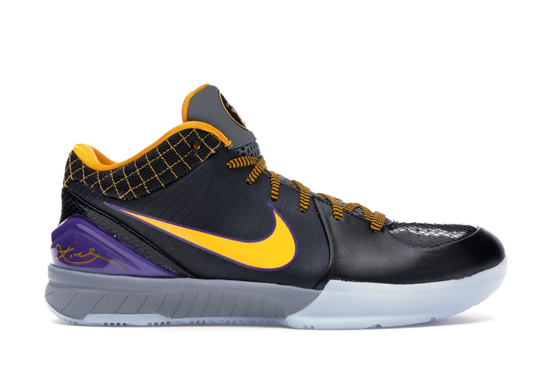 ナイキ NIKE コービー スニーカー 【 KOBE 4 PROTRO CARPE DIEM BLACK VARSITY PURPLECANYON GOLD 】 メンズ 送料無料