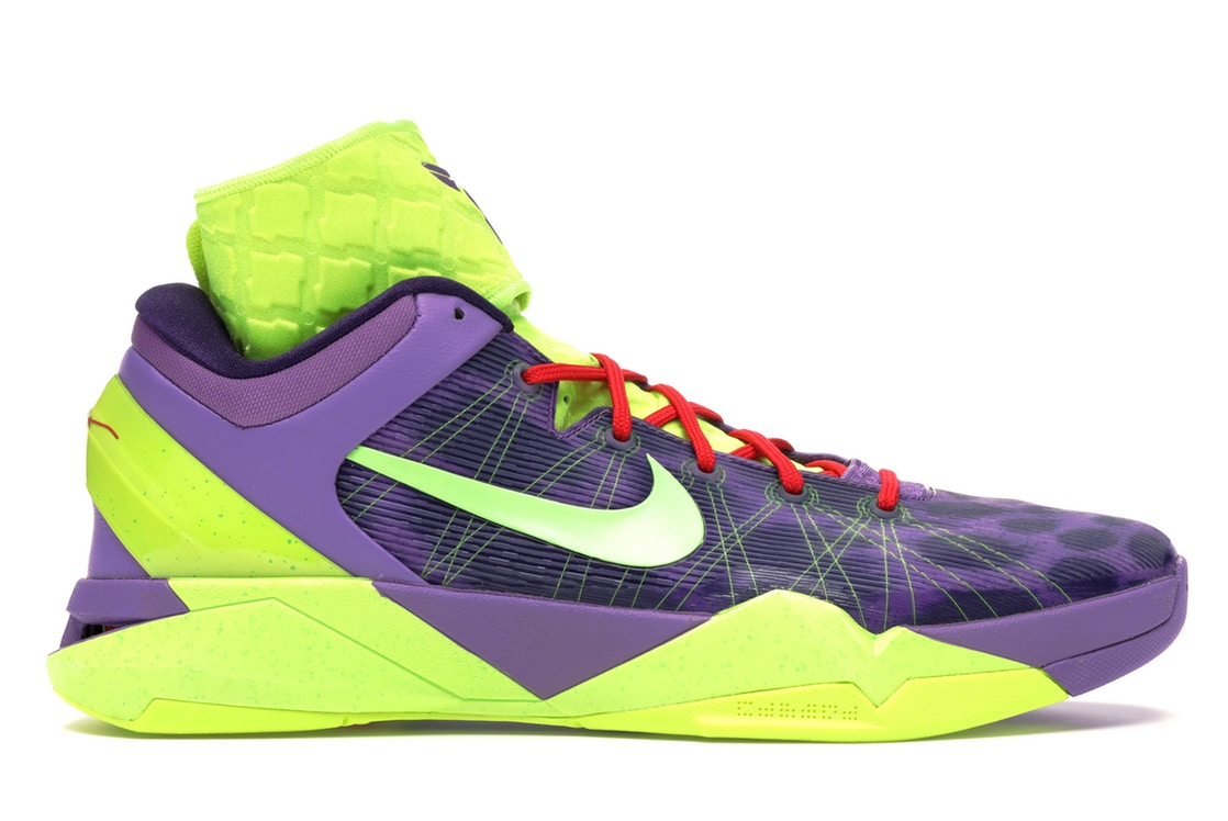 ナイキ NIKE コービー スニーカー 【 KOBE 7 CHRISTMAS LEOPARD VIOLET POP VOLTINKACTION RED 】 メンズ 送料無料