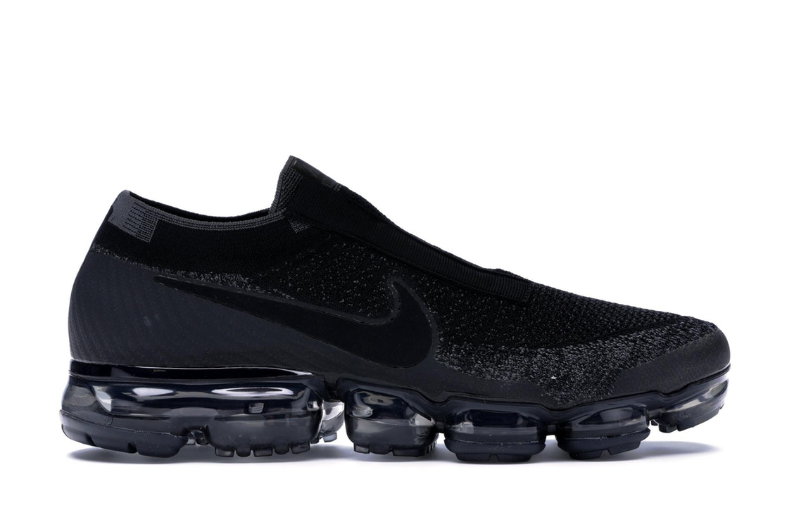 ナイキ NIKE エア スニーカー 【 AIR VAPORMAX SE LACELESS TRIPLE BLACK BLACKDARK GREY 】 メンズ
