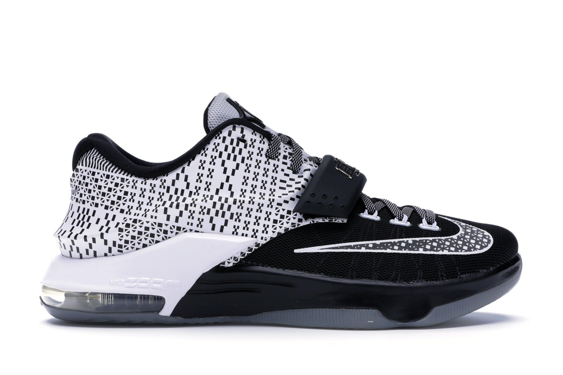 ナイキ NIKE スニーカー 【 KD 7 BHM 2015 BLACK WHITEWOLF GREY 】 メンズ