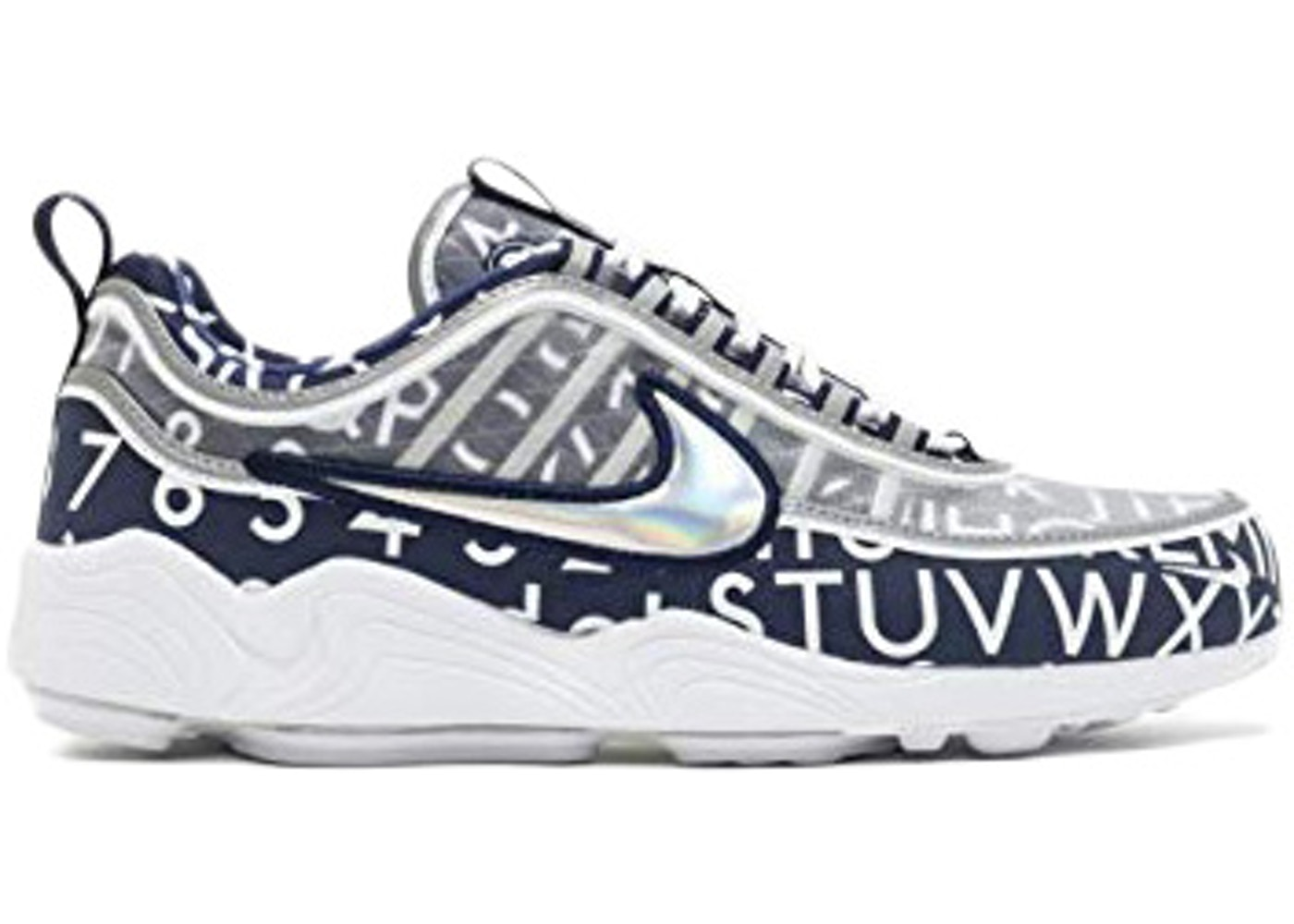 ナイキ NIKE エア ズーム スニーカー 【 AIR ZOOM SPIRIDON ROUNDEL BINARY BLUE MULTICOLOR 】 メンズ