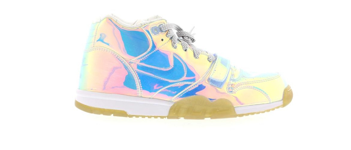 ナイキ NIKE エア トレーナー スニーカー 【 AIR TRAINER 1 SUPER BOWL HOLOGRAM MULTICOLOR ICE BLUE 】 メンズ