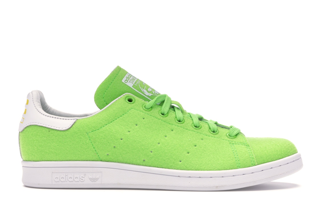 アディダス ADIDAS テニス スニーカー 【 STAN SMITH PHARRELL TENNIS GREEN SCREAM FTW WHITE 】 メンズ