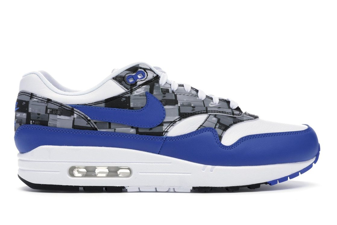 ナイキ NIKE エア マックス スニーカー 【 AIR MAX 1 ATMOS WE LOVE GAME ROYAL WHITE ROYALNEUTRAL GREY 】 メンズ