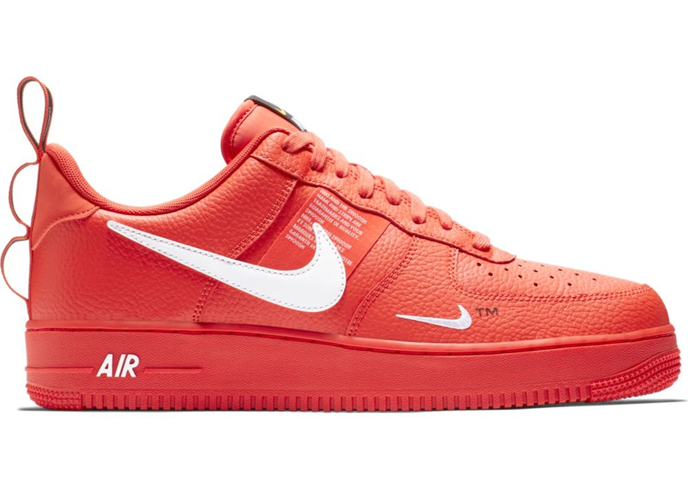 ナイキ NIKE エア チーム スニーカー 【 AIR TEAM FORCE 1 LOW UTILITY ORANGE BLACKTOUR YELLOWWHITE 】 メンズ