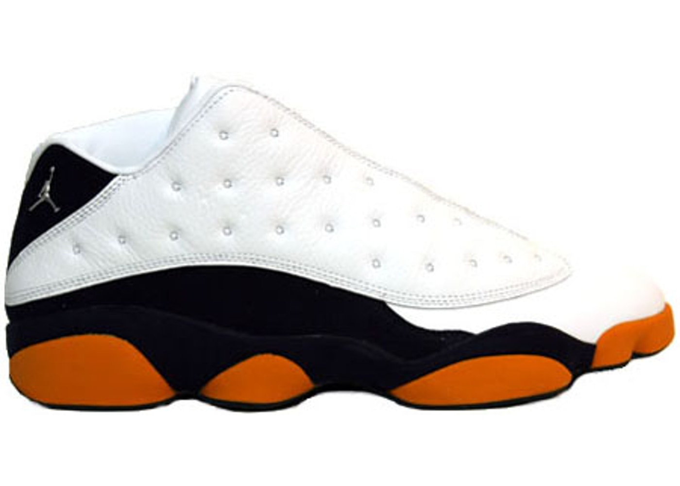 ナイキ ジョーダン JORDAN サーティーン スニーカー 【 13 RETRO LOW CUSE WHITE METALLIC SILVEROBSIDIANORANGE FLASH 】 メンズ