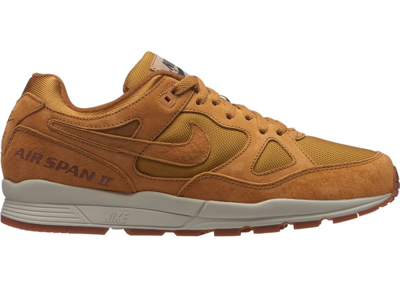 ナイキ NIKE エア スニーカー 【 AIR SPAN 2 WHEAT LIGHT BONEGUM MEDIUM BROWNWHEAT 】 メンズ