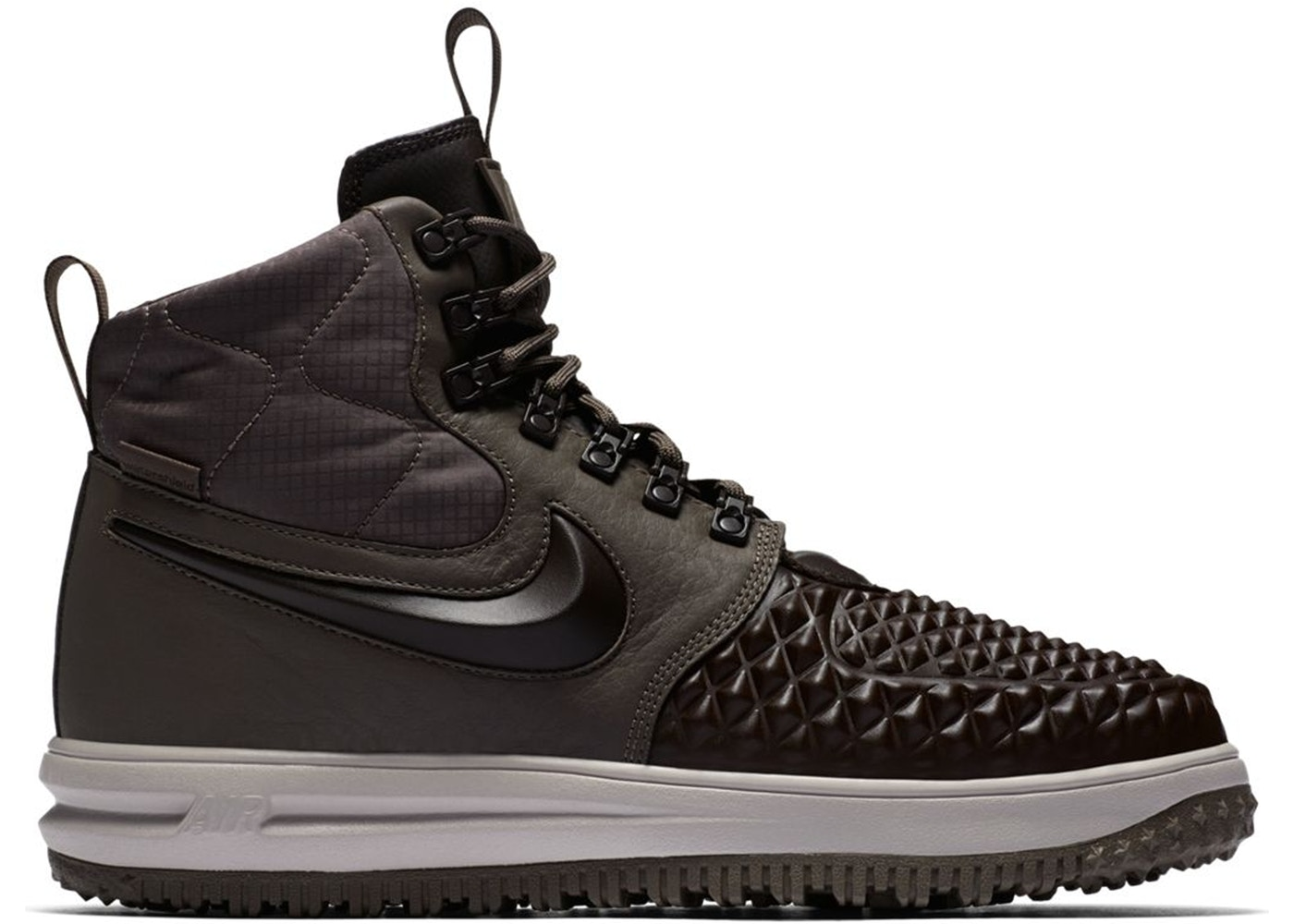 ナイキ NIKE ルーナー ルナー スニーカー 【 LUNAR FORCE 1 DUCKBOOT 17 RIDGEROCK VELVET BROWN 】 メンズ