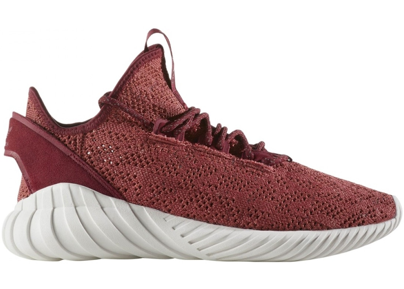 アディダス ADIDAS スニーカー 【 TUBULAR DOOM SOCK MYSTERY RED COLLEGIATE BURGUNDY CRYSTAL WHITE 】 メンズ