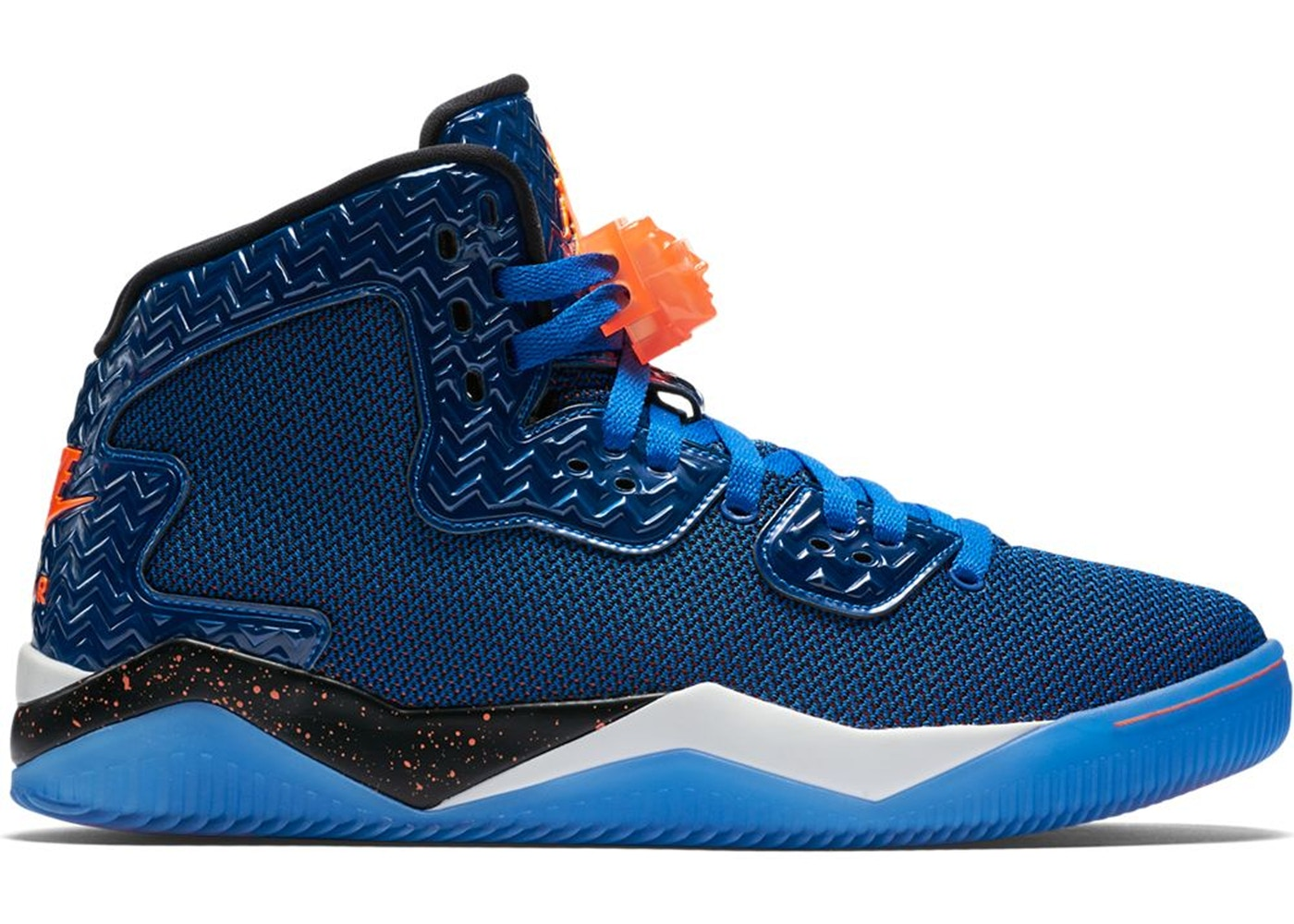 ナイキ ジョーダン JORDAN ニックス スニーカー 【 SPIKE FORTY KNICKS BLUE GAME ROYAL TOTAL ORANGEWHITEBLACK 】 メンズ