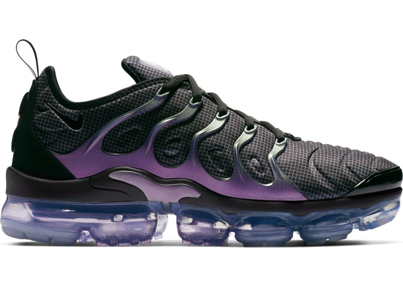 ナイキ NIKE エア スニーカー 【 AIR VAPORMAX PLUS EGGPLANT BLACK DARK GREYALUMINUMBLACK 】 メンズ