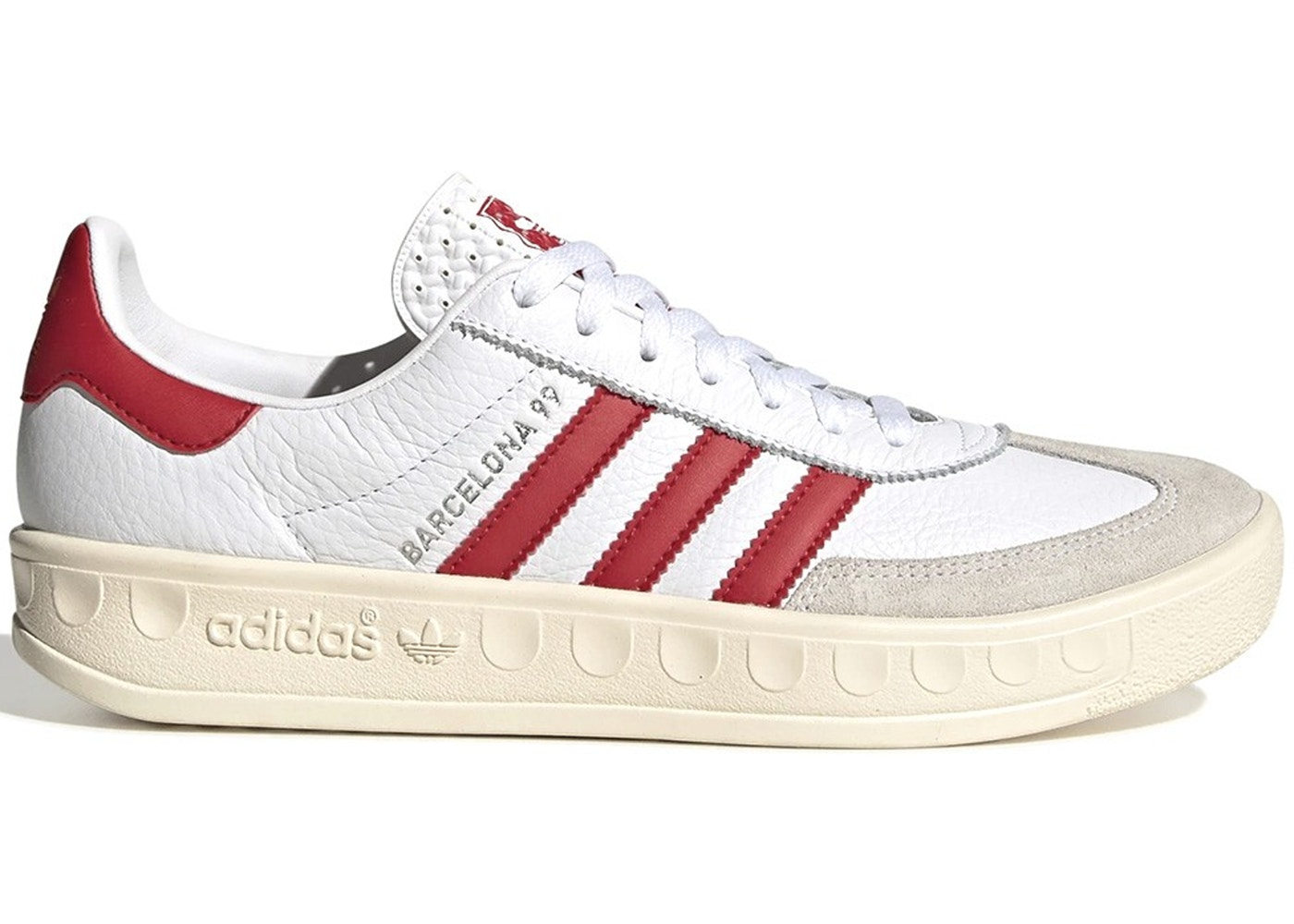アディダス ADIDAS スニーカー 【 BARCELONA 99 MANCHESTER UNITED WHITE RED 】 メンズ