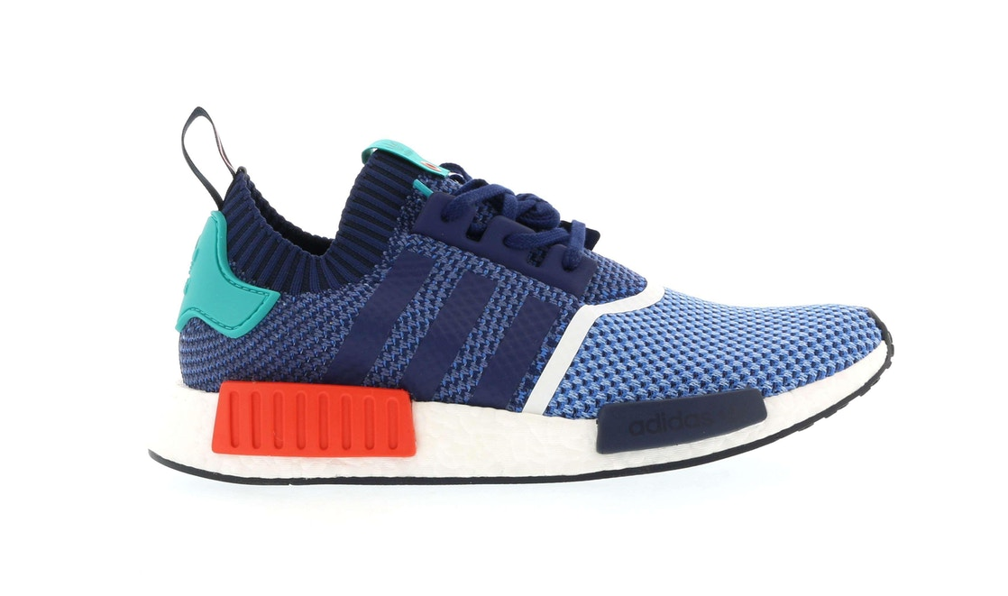 アディダス ADIDAS スニーカー 【 NMD R1 PACKER SHOES LIGHT BLUE INDIGO TURQUOISE RED 】 メンズ