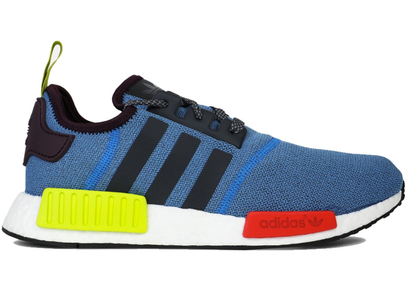 アディダス ADIDAS スニーカー 【 NMD R1 VILLA CERULEAN BRIGHT RED SHOCK GREEN WHITE 】 メンズ