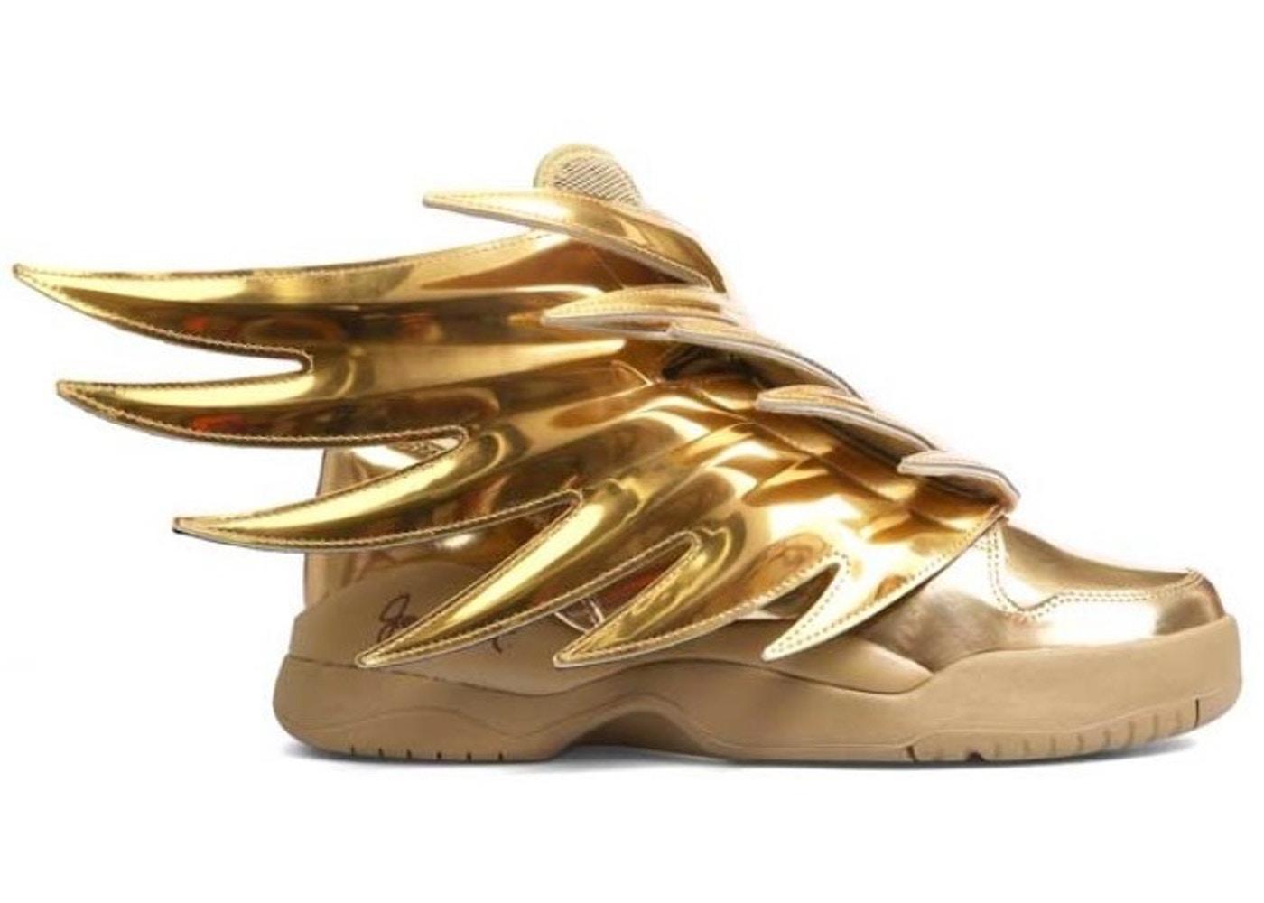 ファッションブランド カジュアル ファッション スニーカー アディダス ADIDAS ソリッド スニーカー 【 JS WINGS SOLID GOLD METALLIC 】 メンズ 送料無料