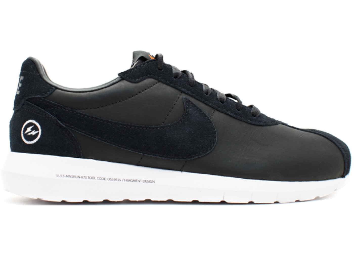 ナイキ NIKE ラン スニーカー 【 ROSHE RUN LD1000 FRAGMENT BLACK BLACKWHITE 】 メンズ