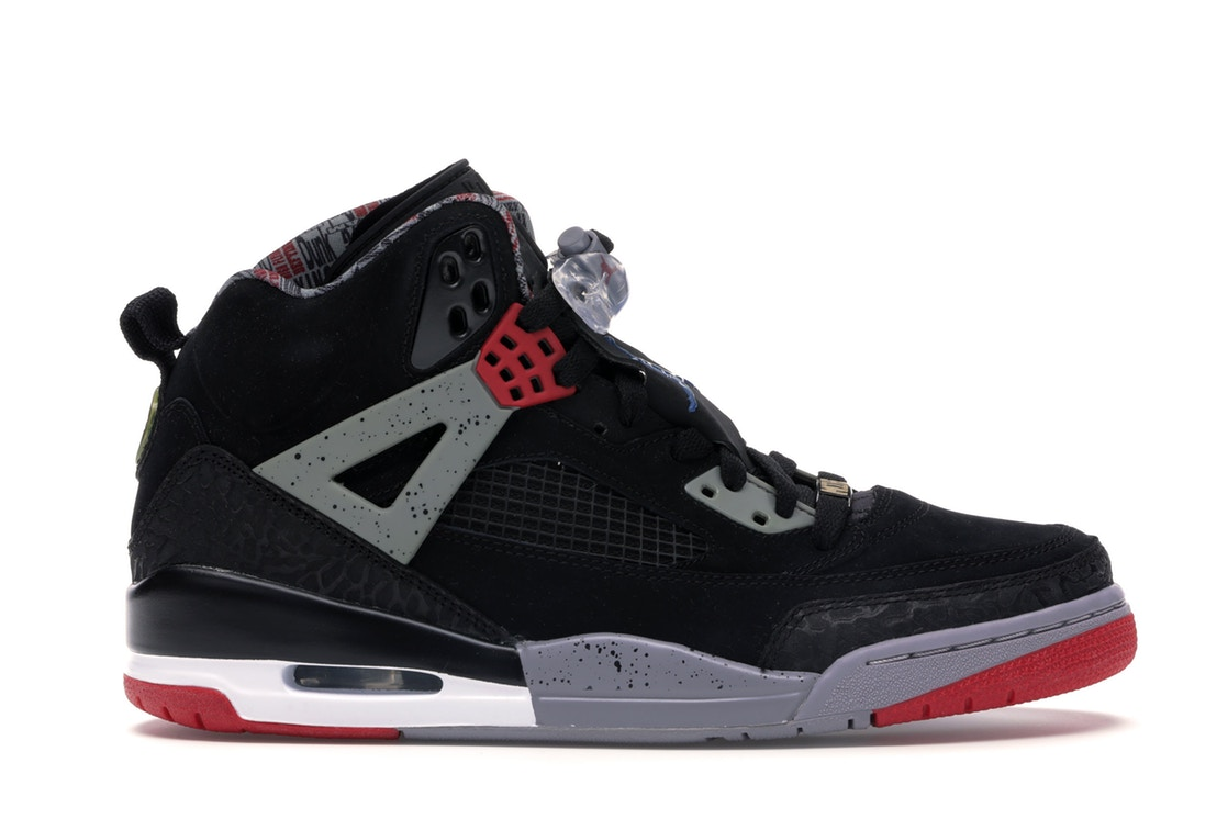 ナイキ ジョーダン JORDAN フレッシュ '85 スニーカー 【 SPIZIKE FRESH SINCE BLACK VARSITY REDCEMENT GREYMILITARY BLUE 】 メンズ