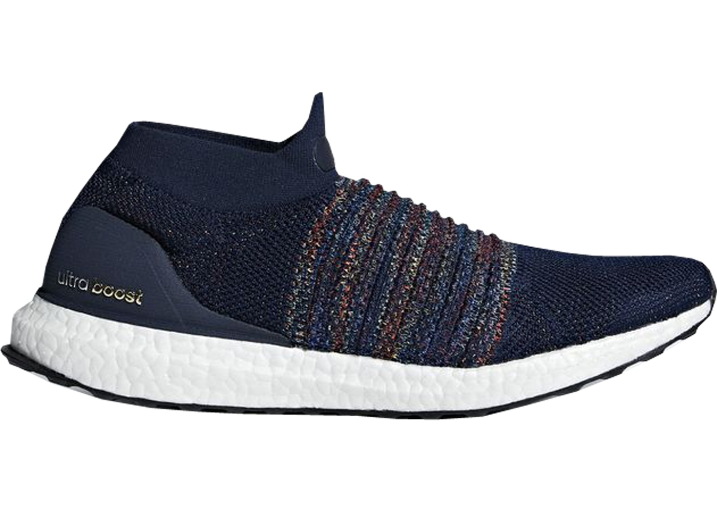 アディダス ADIDAS ウルトラ ブースト スニーカー 【 ULTRA BOOST LACELESS COLLEGIATE NAVY CORE BLACK CLOUD WHITE 】 メンズ