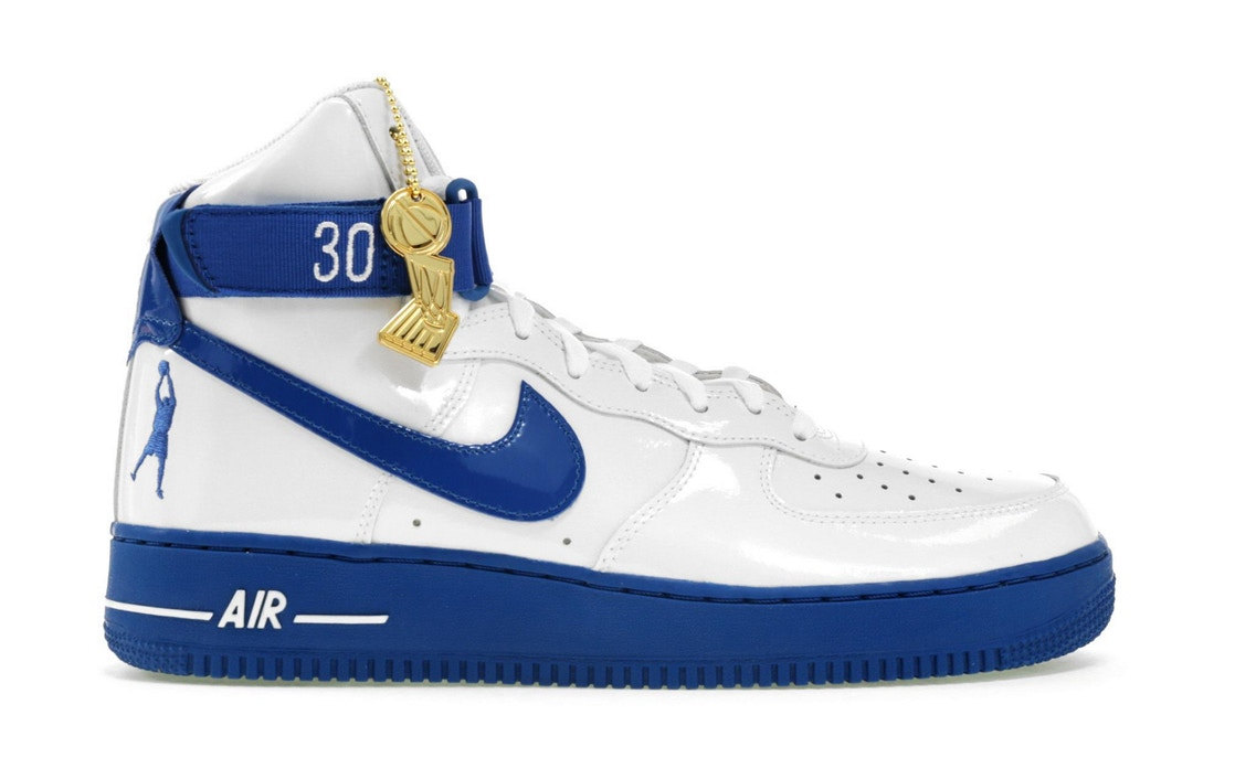 ナイキ NIKE エアー ハイ スニーカー 【 AIR FORCE 1 HIGH SHEED THINK 16 RUDE AWAKENING WHITE BLUEJAY 】 メンズ 送料無料