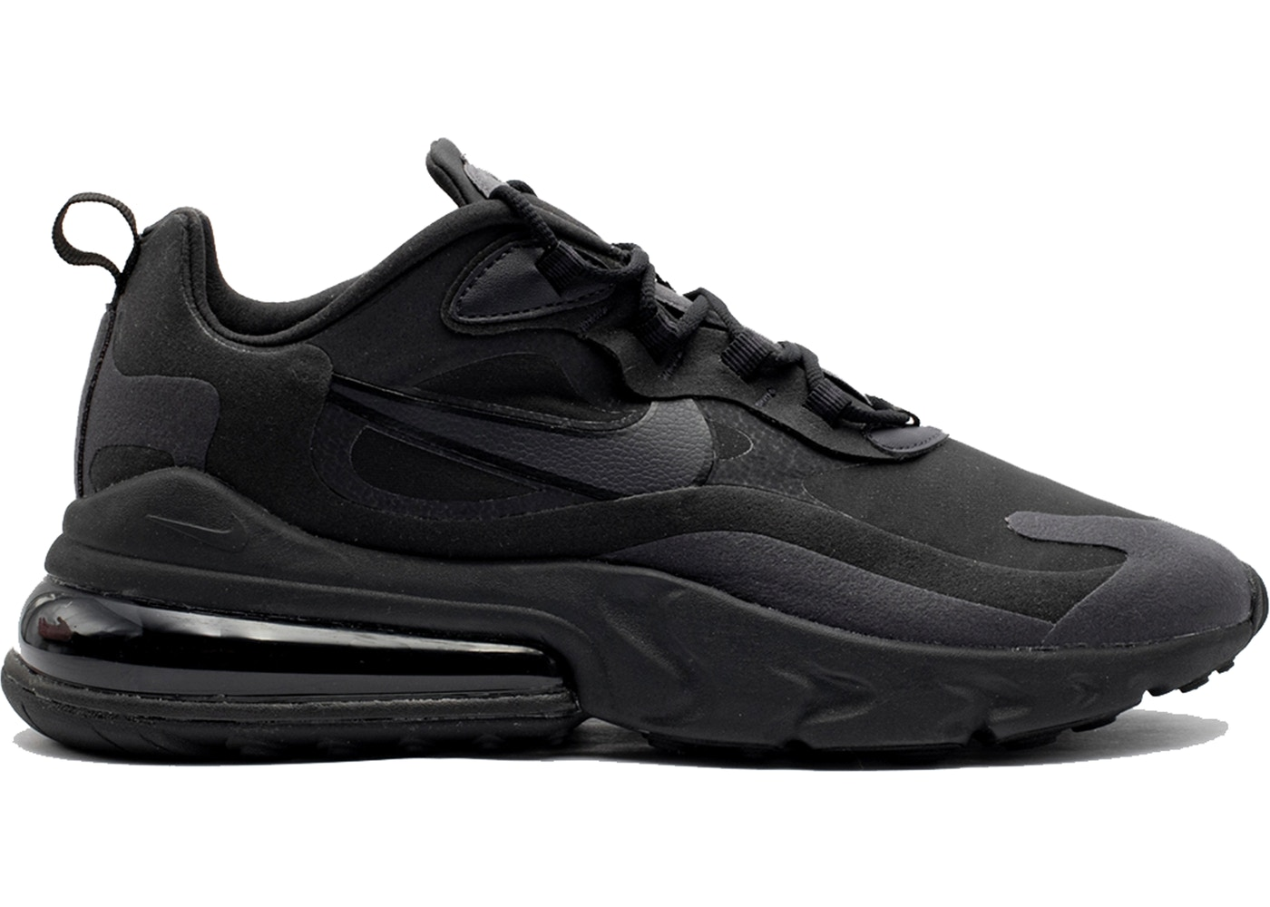 ナイキ NIKE エア マックス スニーカー 【 AIR MAX 270 REACT HIP HOP TRIPLE BLACK OIL GREYOIL GREYBLACK 】 メンズ