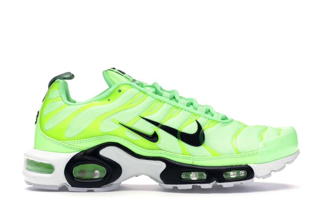 ナイキ NIKE エア マックス スニーカー 【 AIR MAX PLUS OVERBRANDING LIME BLAST BLACKWHITE 】 メンズ