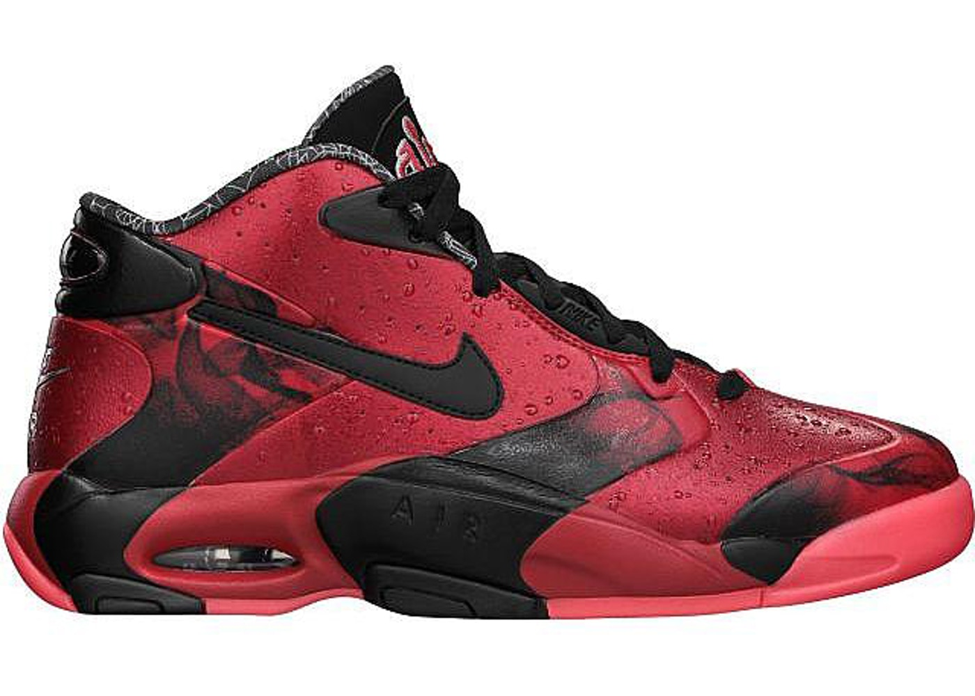 "ナイキ NIKE エア ""CRESCENT CITY"" スニーカー 【 AIR UP 14 NOLA GUMBO LEAGUE UNIVERSITY RED BLACK 】 メンズ"