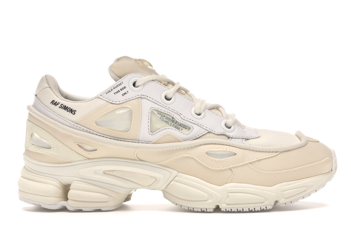 アディダス ADIDAS スニーカー 【 OZWEEGO BUNNY RAF SIMONS CREAM CORE WHITE BLACK 】 メンズ 送料無料