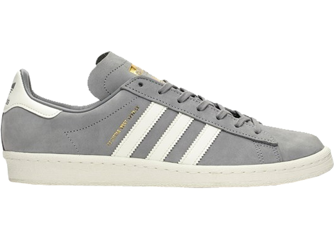 アディダス ADIDAS キャンパス スニーカー 【 CAMPUS 80S SNEAKERSNSTUFF 22 LITTLE WEST GREY THREE OFF WHITE GOLD METALLIC 】 メンズ
