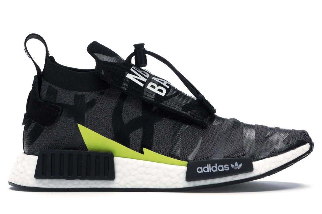 【おまけ付】 アディダス ADIDAS スニーカー 【 NMD TS1 BAPE X NEIGHBORHOOD BLACK WHITE GREY 】 メンズ 送料無料, PotaricoPublicc d8474d20