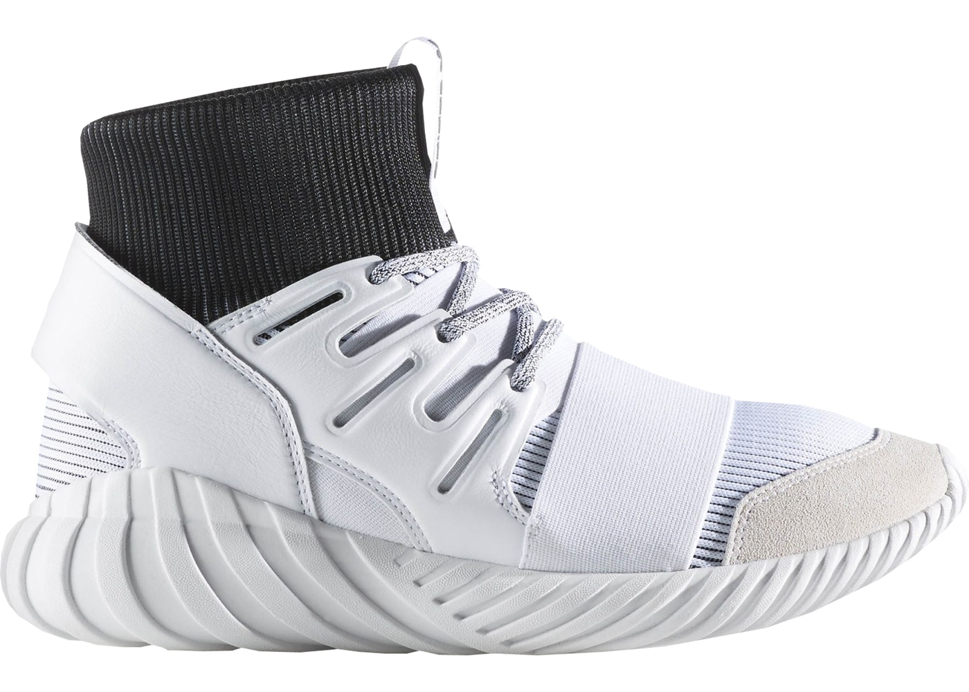 アディダス ADIDAS スニーカー 【 TUBULAR DOOM YIN YANG WHITE RUNNING WHITECORE BLACK 】 メンズ