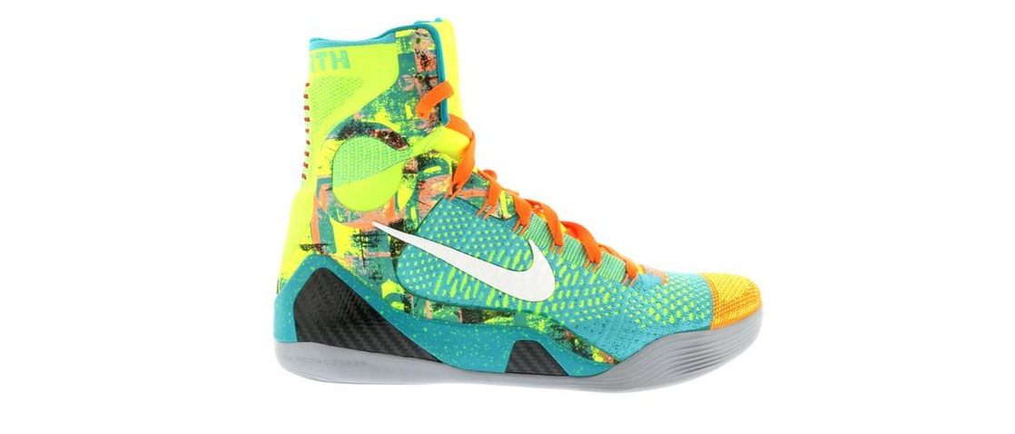 ナイキ NIKE コービー エリート スニーカー 【 KOBE 9 ELITE INFLUENCE SPORT TURQOISE WHITEVOLTTOTAL ORANGE 】 メンズ 送料無料