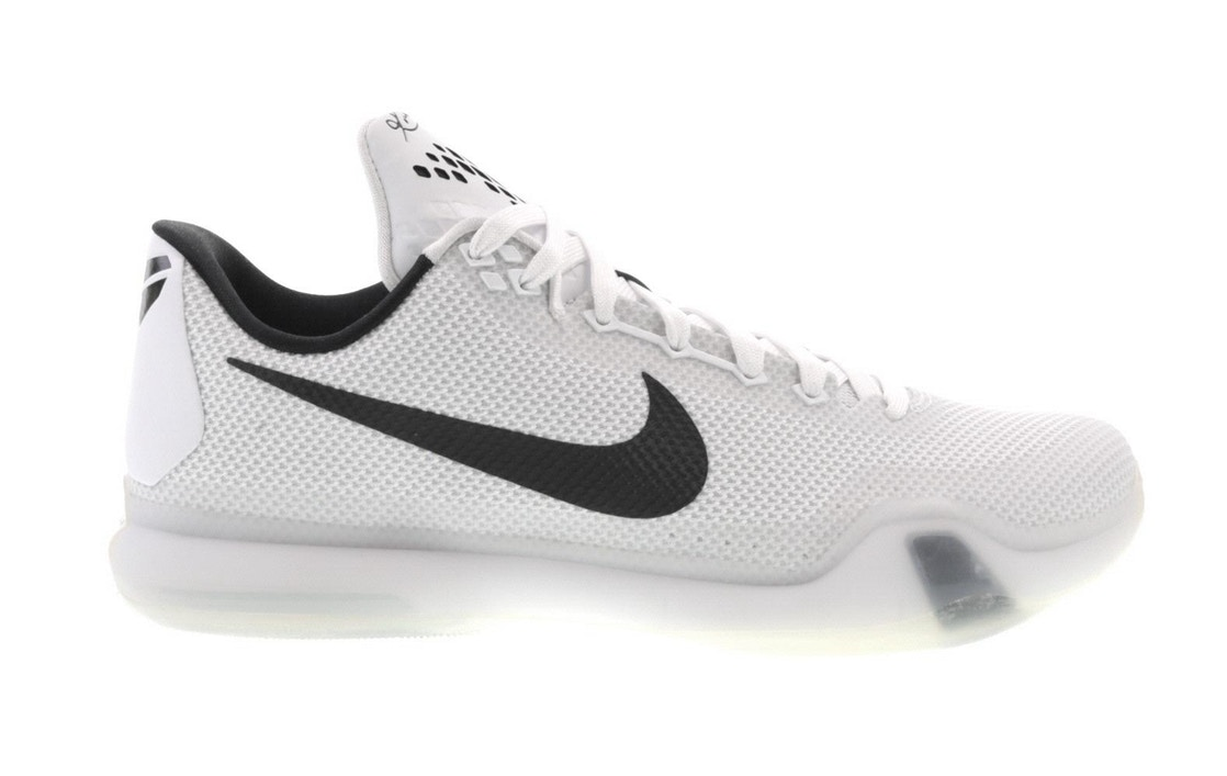 ナイキ NIKE コービー スニーカー 【 KOBE 10 FUNDAMENTALS WHITE BLACKWOLF GREY 】 メンズ