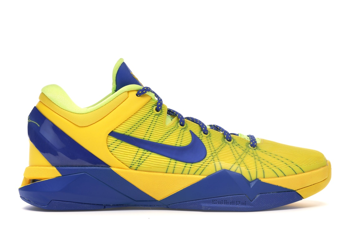ナイキ NIKE コービー スニーカー 【 KOBE 7 BARCELONA AWAY TOUR YELLOW GAME ROYALLEMON TWIST 】 メンズ 送料無料