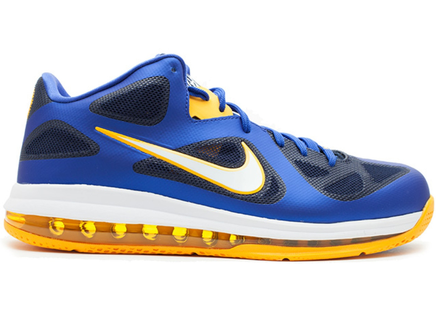 ナイキ NIKE レブロン スニーカー 【 LEBRON 9 LOW ENTOURAGE GAME ROYAL UNIVERSITY GOLDMIDNIGHT NAVY 】 メンズ