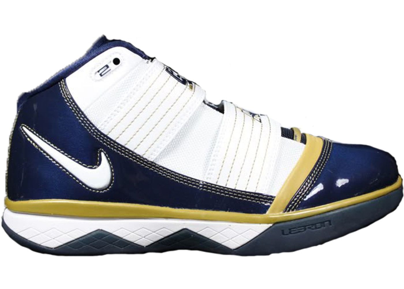 ナイキ NIKE ズーム ソルジャー スニーカー 【 ZOOM SOLDIER III AKRON HOME WHITE MIDNIGHT NAVYMETALLIC GOLD 】 メンズ 送料無料