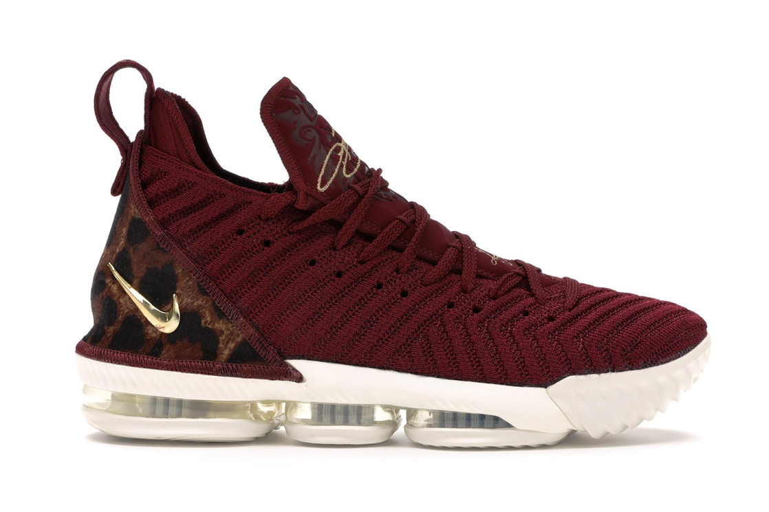 ナイキ NIKE レブロン スニーカー 【 LEBRON 16 KING TEAM RED METALLIC GOLDMULTICOLORSAIL 】 メンズ