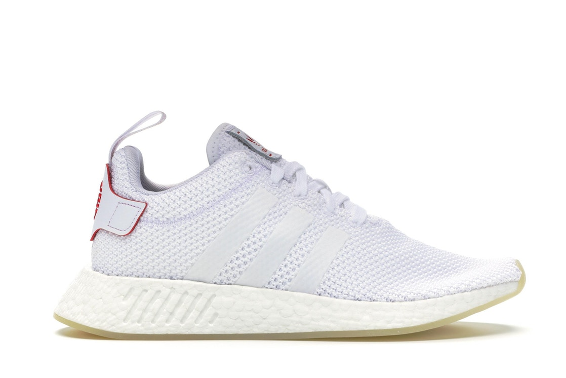 アディダス ADIDAS スニーカー 【 NMD R2 CHINESE NEW YEAR 2018 RUNNING WHITE SCARLET 】 メンズ 送料無料