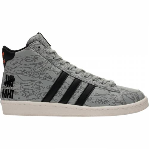 アディダス ADIDAS スニーカー 【 JABBAR HI UNDEFEATED X MAHARISHI BLACK CORE WHITE ORANGE 】 メンズ